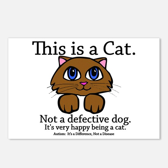 This is a Cat Postcards (Package of 8)