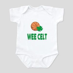 Wee Celt Basketball Baby Toddler Infant Bodysuit