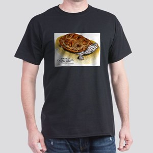 Ornate Diamondback Terrapin Dark T-Shirt