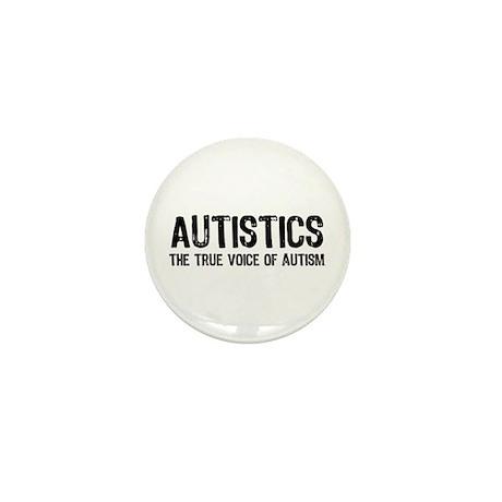 True Voice of Autism Mini Button