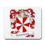 Lamoureux Family Crest Mousepad