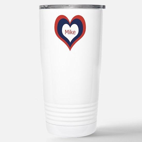 Mike - Stainless Steel Travel Mug