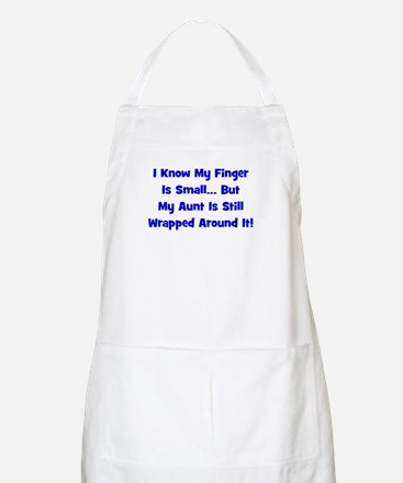 Aunt Wrapped Around Finger - BBQ Apron