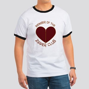 Zipper Club Ringer T