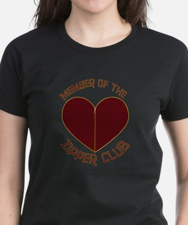 Zipper Club Women's Dark T-Shirt