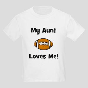 My Aunt Loves Me! Football Kids Light T-Shirt