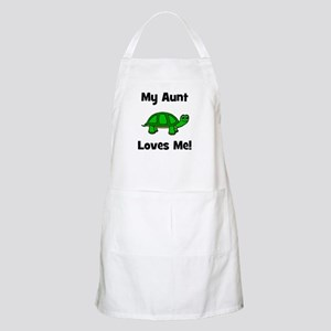 My Aunt Loves Me! Turtle BBQ Apron