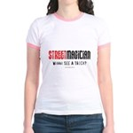 Wanna See a Trick? Jr. Ringer T-Shirt