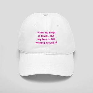 Aunt Wrapped Around Finger. P Cap