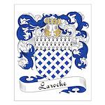 Laroche Family Crest Small Poster