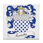 Laroche Family Crest Tile Coaster