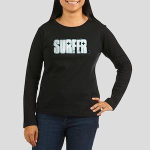 Surfer Women's Long Sleeve Dark T-Shirt