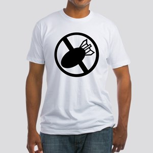 No Nukes Fitted T-Shirt