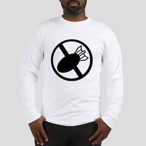 No Nukes Long Sleeve T-Shirt