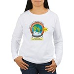 Martians for Education Women's Long Sleeve T-Shirt