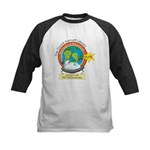 Martians for Education Kids Baseball Jersey