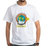 Martians for Education White T-Shirt