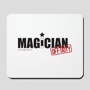 Magician Off Duty Mousepad