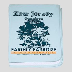 New Jersey - Gunnison Beach baby blanket