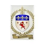 SANSOUCY Family Crest Rectangle Magnet (10 pack)