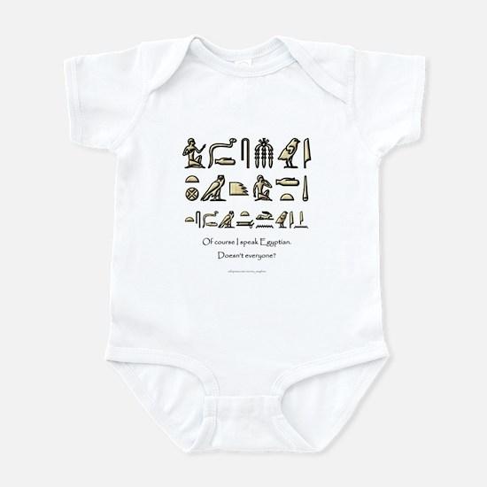 I Speak Egyptian Infant Bodysuit