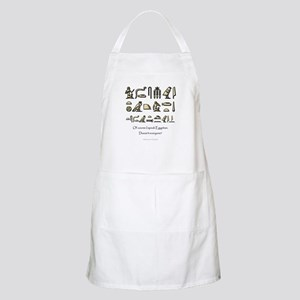 I Speak Egyptian BBQ Apron