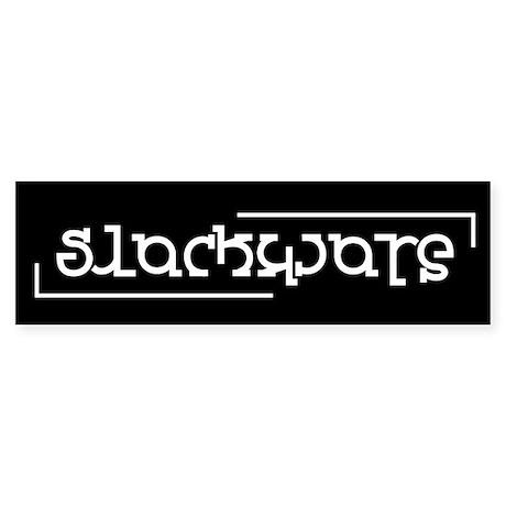 Slackware Flippy Logo Bumper Sticker