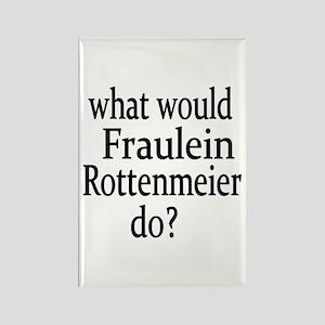 Fraulein Rottenmeier Rectangle Magnet