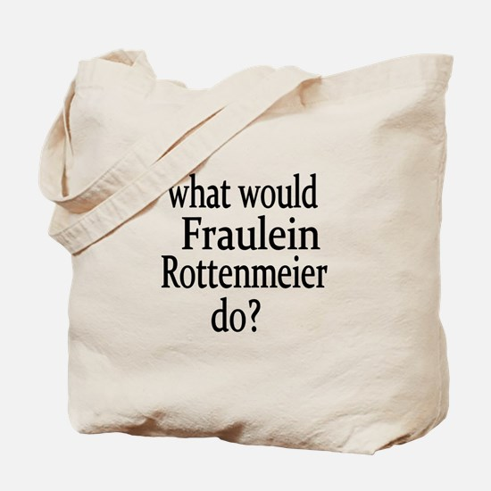 Fraulein Rottenmeier Tote Bag