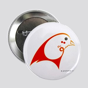 "Eshgh (Love) Red Bird 2.25"" Button"