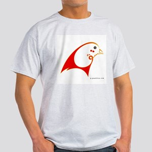 Eshgh (Love) Red Bird Light T-Shirt