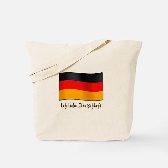 Ich liebe Deutschland Tote Bag