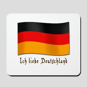 Ich liebe Deutschland Mousepad