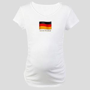 Ich liebe Deutschland Maternity T-Shirt