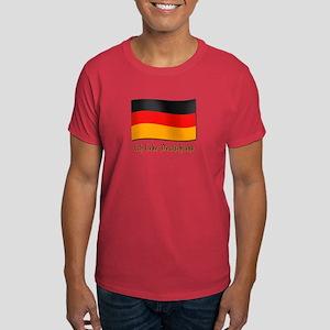 Ich liebe Deutschland Dark T-Shirt