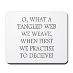 Tangled Web Mousepad
