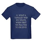 Tangled Web Kids Dark T-Shirt