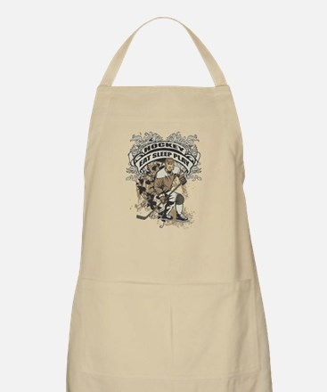 Eat, Sleep, Play Hockey BBQ Apron