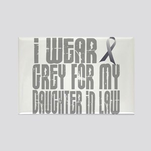I Wear Grey For My Daughter-In-Law 16 Rectangle Ma