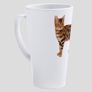 Bengal Cat 17 oz Latte Mug