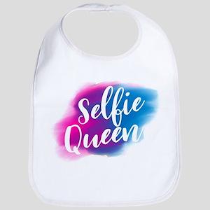 selfie queen Baby Bib