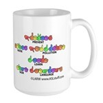 Prevent Noise Pollution CC Large Mug