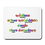Prevent Noise Pollution CC Mousepad