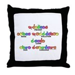 Prevent Noise Pollution CC Throw Pillow