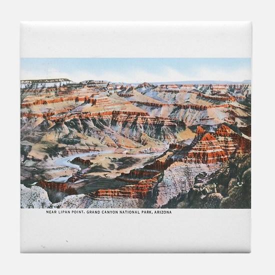 Grand Canyon Arizona Tile Coaster