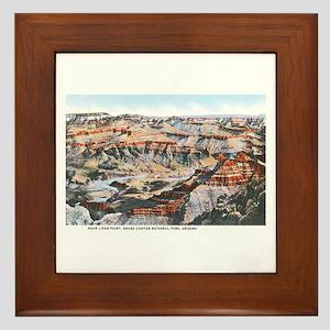 Grand Canyon Arizona Framed Tile