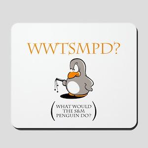 S&M Penguin Mousepad
