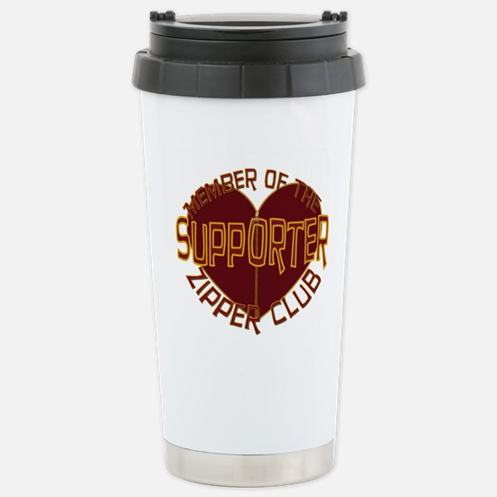 Supporter Stainless Steel Travel Mug