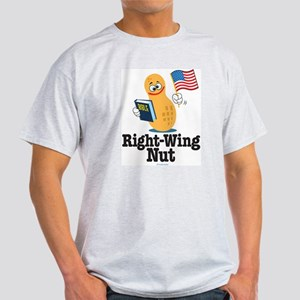 Right-Wing Nut Ash Grey T-Shirt