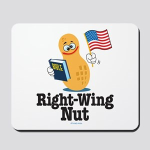Right-Wing Nut Mousepad